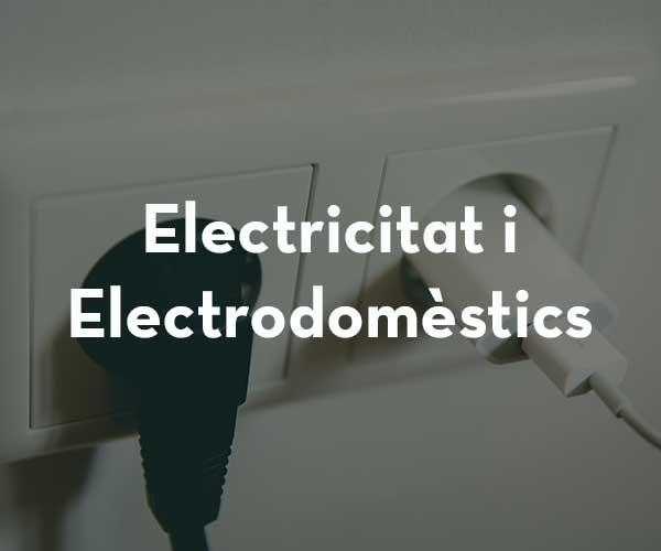 Electricitat / Electrodomèstics