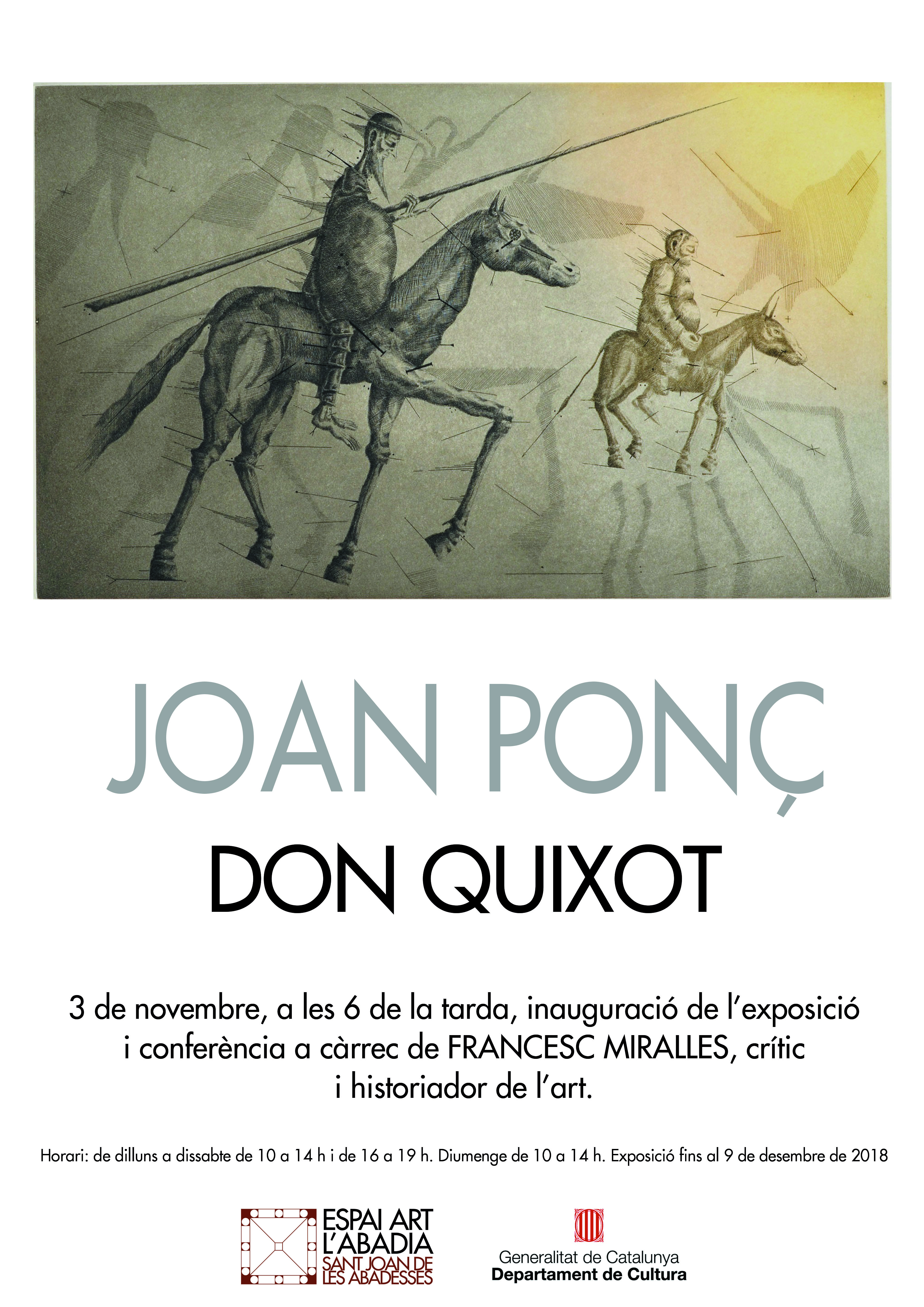 cartell JOAN PON