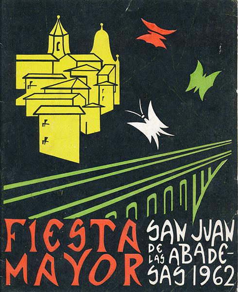 1962 PROGRAMA FESTA MAJOR