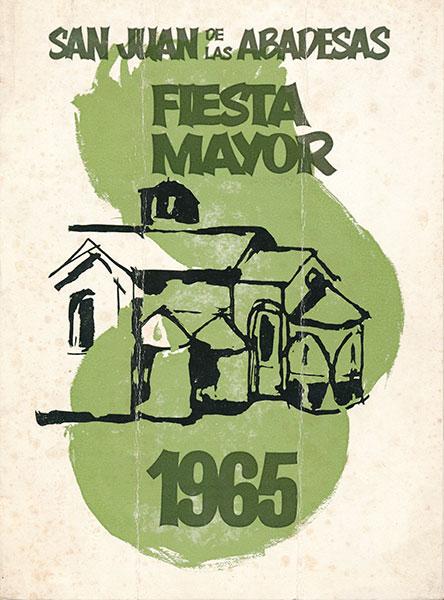 1965 PROGRAMA FESTA MAJOR
