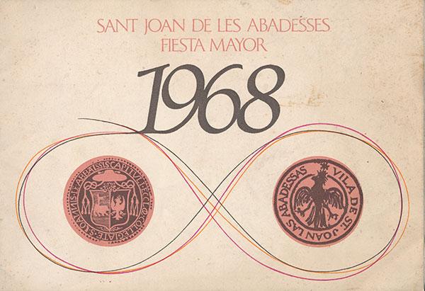 1968 PROGRAMA FESTA MAJOR