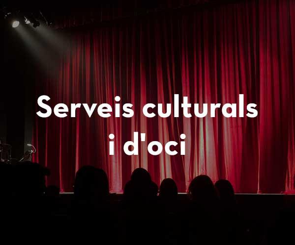 Serveis culturals i d'oci