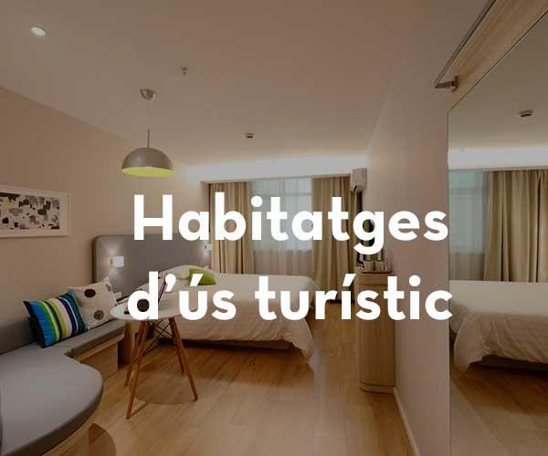 Habitatges d'ús turístic