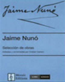 Jaime Nunó. Selección de composiciones