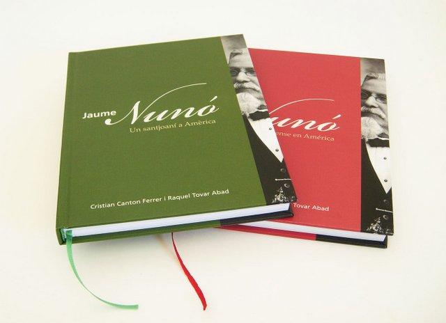 Jaume Nunó. Un santjoaní a Amèrica
