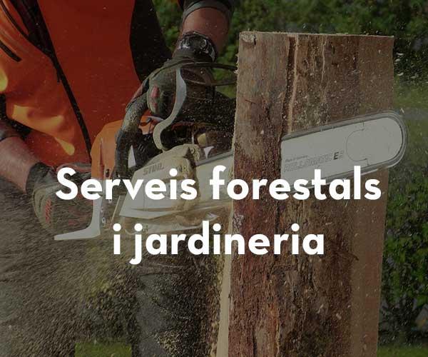 Serveis forestals i jardineria